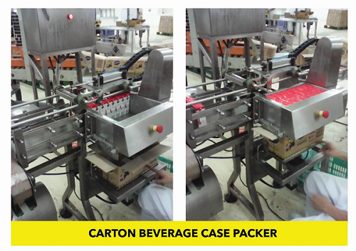 Carton Beverage Case Packer